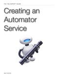 Creating an Automator Service book summary, reviews and download