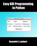 Easy GUI Programming in Python book summary, reviews and download