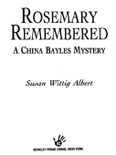 Rosemary Remembered book summary, reviews and downlod