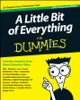 A Little Bit of Everything For Dummies book image