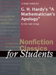 """A Study Guide for G. H. Hardy's """"A Mathematician's Apology"""" book summary, reviews and downlod"""