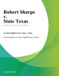 Robert Sharpe v. State Texas book summary, reviews and downlod