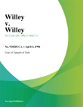 Willey V. Willey book summary, reviews and downlod