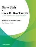 State Utah v. Jack D. Brocksmith book summary, reviews and downlod