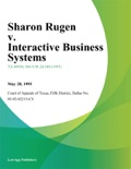 Sharon Rugen v. Interactive Business Systems book summary, reviews and downlod