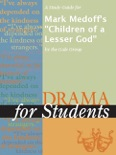 """A Study Guide for Mark Medoff's """"Children of a Lesser God"""" book summary, reviews and downlod"""