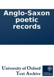 Anglo-Saxon poetic records book summary, reviews and downlod