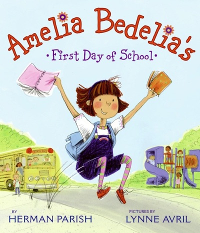 Amelia Bedelia's First Day of School by Herman Parish Book Summary, Reviews and E-Book Download