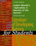 """A Study Guide for Isabel Allende's """"Aphrodite: A Memoir of the Senses"""" book summary, reviews and downlod"""