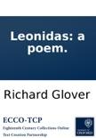 Leonidas: a poem. book summary, reviews and downlod