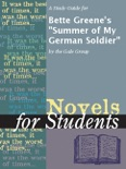 """A Study Guide for Bette Greene's """"Summer of My German Soldier"""" book summary, reviews and downlod"""