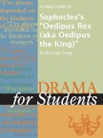 """A Study Guide for Sophocles's """"Oedipus Rex (aka Oedipus the King)"""" book summary, reviews and downlod"""