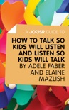 A Joosr Guide to... How to Talk So Kids Will Listen and Listen So Kids Will Talk by Faber & Mazlish book summary, reviews and downlod