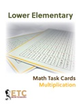 Lower Elementary Math Task Cards - Multiplication book summary, reviews and downlod