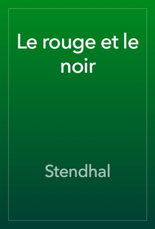 Le rouge et le noir by Stendhal E-Book Download
