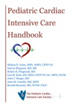 Pediatric Cardiac Intensive Care Handbook