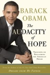 The Audacity of Hope book summary, reviews and downlod