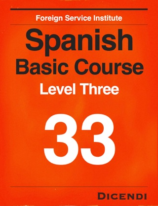 FSI Spanish Basic Course 33 textbook download