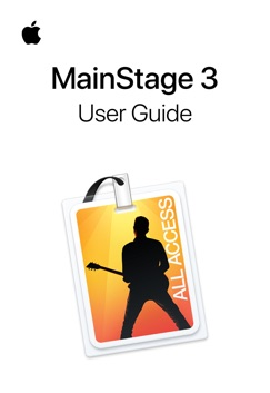 MainStage 3 User Guide E-Book Download