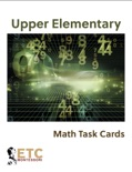 Upper Elementary Advanced Math Task Cards book summary, reviews and downlod