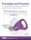 Principles and Practice An Integrated Approach to Engineering Graphics and AutoCAD 2020 book summary, reviews and download