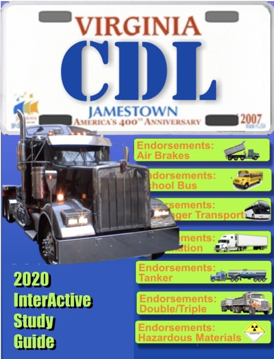 CDL Virginia Commercial Drivers License by William Chester Book Summary, Reviews and E-Book Download