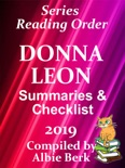 Donna Leon's Guido Brunetti Series: Best Reading Order - with Summaries & Checklist - Compiled by Albie Berk