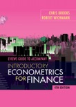 EViews Guide for Introductory Econometrics for Finance book summary, reviews and download
