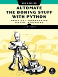 Automate the Boring Stuff with Python, 2nd Edition book summary, reviews and download
