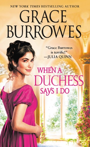 When a Duchess Says I Do by Grace Burrowes E-Book Download