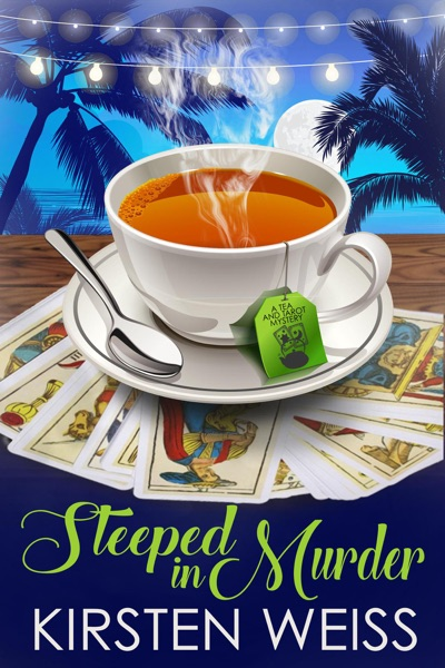Steeped in Murder by Kirsten Weiss Book Summary, Reviews and E-Book Download