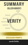 Summary: Colleen Hoover''s Verity book summary, reviews and downlod