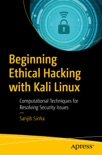 Beginning Ethical Hacking with Kali Linux book summary, reviews and download