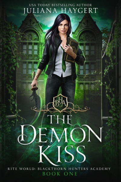 The Demon Kiss by Juliana Haygert Book Summary, Reviews and E-Book Download