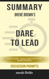 Summary: Brené Brown's Dare to Lead book summary, reviews and downlod