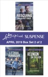 Harlequin Love Inspired Suspense April 2019 - Box Set 2 of 2 book summary, reviews and downlod