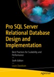 Pro SQL Server Relational Database Design and Implementation book summary, reviews and download