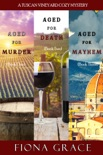 A Tuscan Vineyard Cozy Mystery Bundle (Books 1, 2, and 3) book summary, reviews and downlod