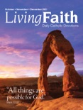 Living Faith October, November, December 2021 book summary, reviews and download