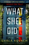What She Did book summary, reviews and download