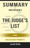 The Judge's List: A Novel by John Grisham (Discussion Prompts) book summary, reviews and downlod