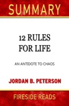 12 Rules for Life: An Antidote to Chaos by Jordan B. Peterson book summary, reviews and downlod