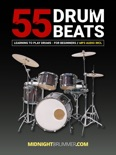 55+ Drum Beats for Beginners - Drum Lessons incl. MP3 Audio (No drum taps but notation inside) book summary, reviews and download