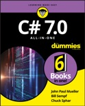 C# 7.0 All-in-One For Dummies book summary, reviews and download
