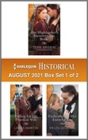 Harlequin Historical August 2021 - Box Set 1 of 2 book summary, reviews and downlod