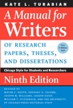 A Manual for Writers of Research Papers, Theses, and Dissertations, Ninth Edition book summary, reviews and download