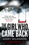 The Girl Who Came Back book summary, reviews and download