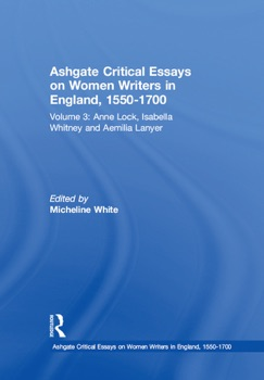 Ashgate Critical Essays on Women Writers in England, 1550-1700 E-Book Download