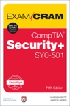 CompTIA Security+ SY0-501 Exam Cram, 5/e e-book