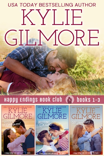 Happy Endings Book Club Boxed Set Books 1-3 by Kylie Gilmore Book Summary, Reviews and E-Book Download